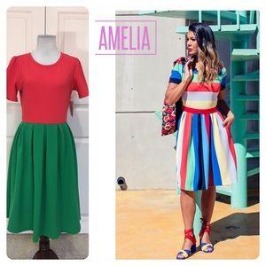 NWT! LuLaRoe Amelia dress